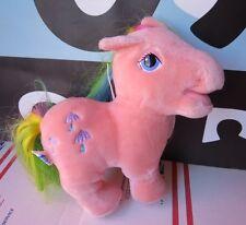 "My Little Pony Hasbro Softies Parasol Pink 1984 Plush 10"""