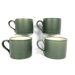 Vtg Pottery Barn BONGO Mug Coffee Cup Made in Japan Sage Green