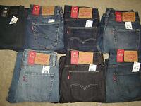 Levis 541 Jeans New Men Levi's Athletic Fit Straight Leg Retail $70