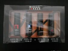 MICHAEL JORDAN COLOGNE  COLLECTION 4 PC GIFT SET FOR MEN for display only new