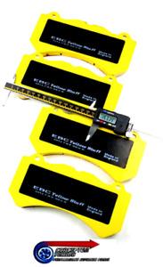 Mejorado EBC DP41983R Yellowstuff Pastillas Freno Delantero - Para R35 GTR