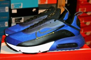 AUTHENTIC NIKE AIR MAX 2090 Blue Black Yellow CV8835 400 Athletic Shoes men size