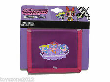 "Powerpuff Girls Bi-Fold Wallet 4.5"" x 3.5"" ( Purple/Pink ) BRAND NEW WITH TAGS"