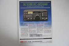ICOM-r7000 (solo opuscolo ORIGINALI)... RADIO _ Trader _ Irlanda.