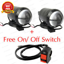 "2x Motorcycle U1 Cree LED 15W (3"" Length) Bike Fog Spot Light Lamp White Light"