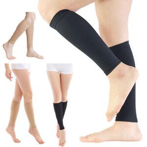 Women Men Compression Leg Sock Long Medical Elastic Circulation Sport Legwarmer