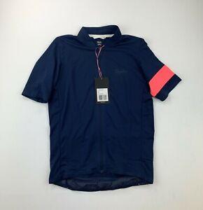 RAPHA Flyweight Jersey Dark Navy / Pink Size Small New