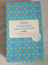 Pack Of 5 Small Disposable Maternity Briefs BNIB