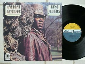 King Curtis – Instant Groove  Rare UK LP  Atco Records  228 027
