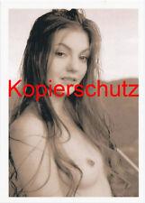 Signora nuda atto in seppia foto XXV cartolina 10,5 x 14,8 cm (DIN A 6) con bordo