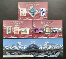 New Zealand Best of 1998 Stamps complete set 3 Mini-Sheets MS Mint NH in Folder