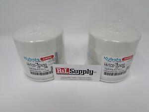 (2) Genuine OEM Kubota Oil Filter HH1C0-32430  1C020-32430; HH 1CO-32430