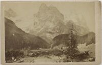 H.Fischer Lucerna Suisse Foto CDV PL52L3n Vintage Albumina