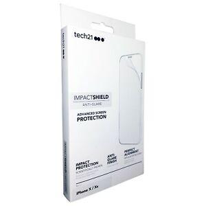 Tech21 iPhone X & XS Impact Shield Anti-Glare Screen Protector T21-5907