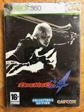 Devil May Cry 4 Ltd Edition Steel Book (scuffed box) - Xbox 360 UK Sealed!