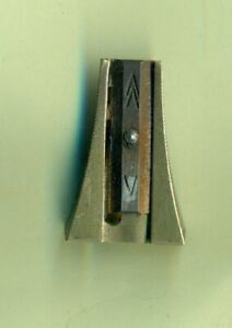 Faber Castell Janus 4046 Vintage Brass Pencil Sharpener Made in Germany