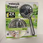 Waterpik Power Spray Plus EcoFlow 14 Sprays Up To 2X Massage Force