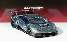 Lamborghini Huracan LP620-2 #63 Super Trofeo 2015 grigio-titan gray 1:18 AUTOart