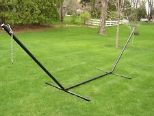 deluxe two person 15 foot steel tri beam hammock stand big daddy hammocks   ebay  rh   ebay