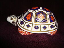 Royal Crown Derby English Bone China Turtle Figure