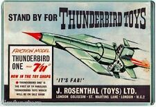 60's NOSTALGIA -THUNDERBIRDS - TV21 COMIC TB1 TOY ADVERT - JUMBO FRIDGE MAGNET