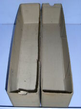 Pappschachteln / Sortierkästen für Lagereinrichtungssystem lang  4 Stück