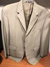 Men's beige 44L Chaps blazer suit jacket new without tags Gorgeous!!!