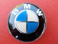 logo sticker BMW Centre volant Ø 45mm bleu / blanc pour E46 E30 E39 E34 E60 ....