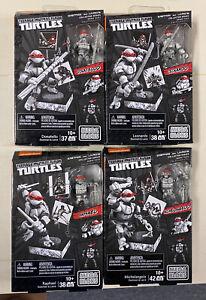 Mega Bloks Set of 4 TMNT TRU SDCC Eastman and Laird Comic Book Ninja Turtles
