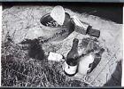 PHOTO Fernand FIANDO pêche bourriche et poissons gauloises Coteaux du Layon U365