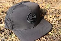 Korda Guru Ripstop Snapback Cap Black One Size Fits All Coarse Carp Fishing Hat
