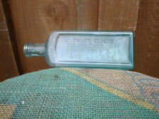 antique Dr TRUES ELIXIR worm expeller Auburn Maine medicine bottle