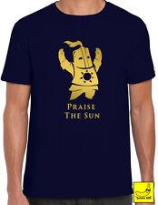 Dark Souls Praise The Sun T-Shirt Solitaire Edition Shrine Game Gift Keep Calm