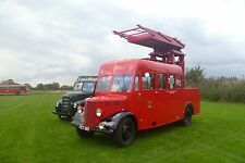 Rotherham Transport tower wagon FET 195 6x4 Quality Bus Photo