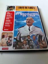 "DVD ""EL GENDARME SE CASA"" LOUIS DE FUNES JEAN GIRAULT JEAN LEFEBVRE MICHEL GALAB"