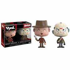 Funko Vynl Horror Figure in Vinyl Freddy Krueger + Jason Voorhees 1758