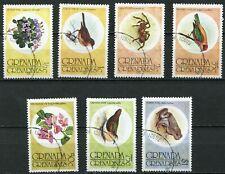 Grenada/Grenadinen 149 - 155 gestempelt, Flora und Fauna