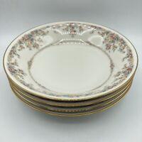 "4 Lot Vintage Noritake Japan Gallery Ivory China 7246 Coupe Soup Bowls 7 3/4"""