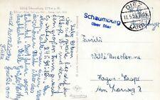 Landpoststempel Schaumburg sur Diez 1955