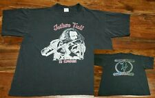 Jethro Tull In Concert Vintage T-Shirt tee Men's XL British Hard Rock Folk Blues