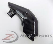 2005 2006 Honda CBR600RR Exhaust Pipe Heat Shield Cover Panel Cowl Carbon Fiber