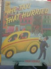 THE TAXI THAT HURRIED Golden Book Family Storytime VGC