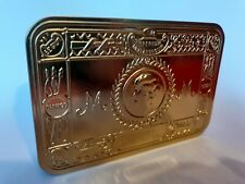 REPRODUCTION WW 1 CHRISTMAS TIN, MADE FOR THE CENTENARY DAILY MAIL