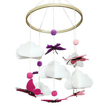Baby Crib Mobile Ceiling Hanging Nursery Décor Pack-n-Play Infant Soother Toy