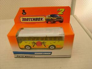 1997 MATCHBOX SUPERFAST #2 IKARUS COACH BUS NEW IN BOX