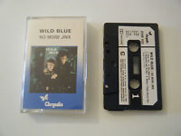 WILD BLUE NO MORE JINX CASSETTE TAPE 1986 PAPER LABEL CHRYSALIS UK