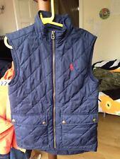Polo Ralph Lauren boys Blue Padded Gilet Vest Age 8  Sleeveles thermal winter