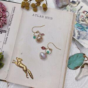 Pearl 14K Gold Filled Handmade Sundance Garden Earrings