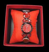 Orologio Da Polso Bracciale Donna In Scatolo Idea Regalo Rouge Diamond lac