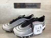 "Men Nike Air Max 97 ""Gradient Fade"" Black/White/Reflect Silver 921826-016 Sz 8.5"